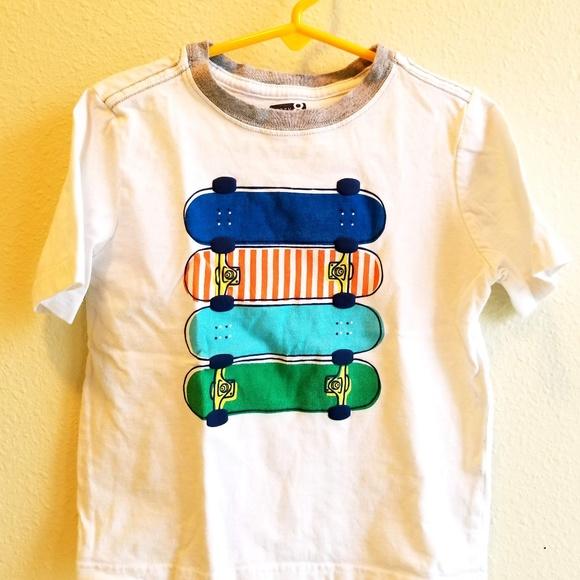 87830dd0ec99 Crazy 8 Shirts & Tops | Kids Skateboard Tshirt Size 5t | Poshmark